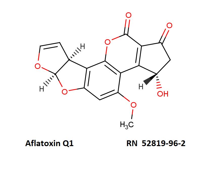 Aflatoxin Q1       RN  52819-96-2  after comptox.epa.